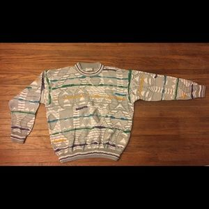 Coogi Sweater Authentic 3D Hip Hop NICE L